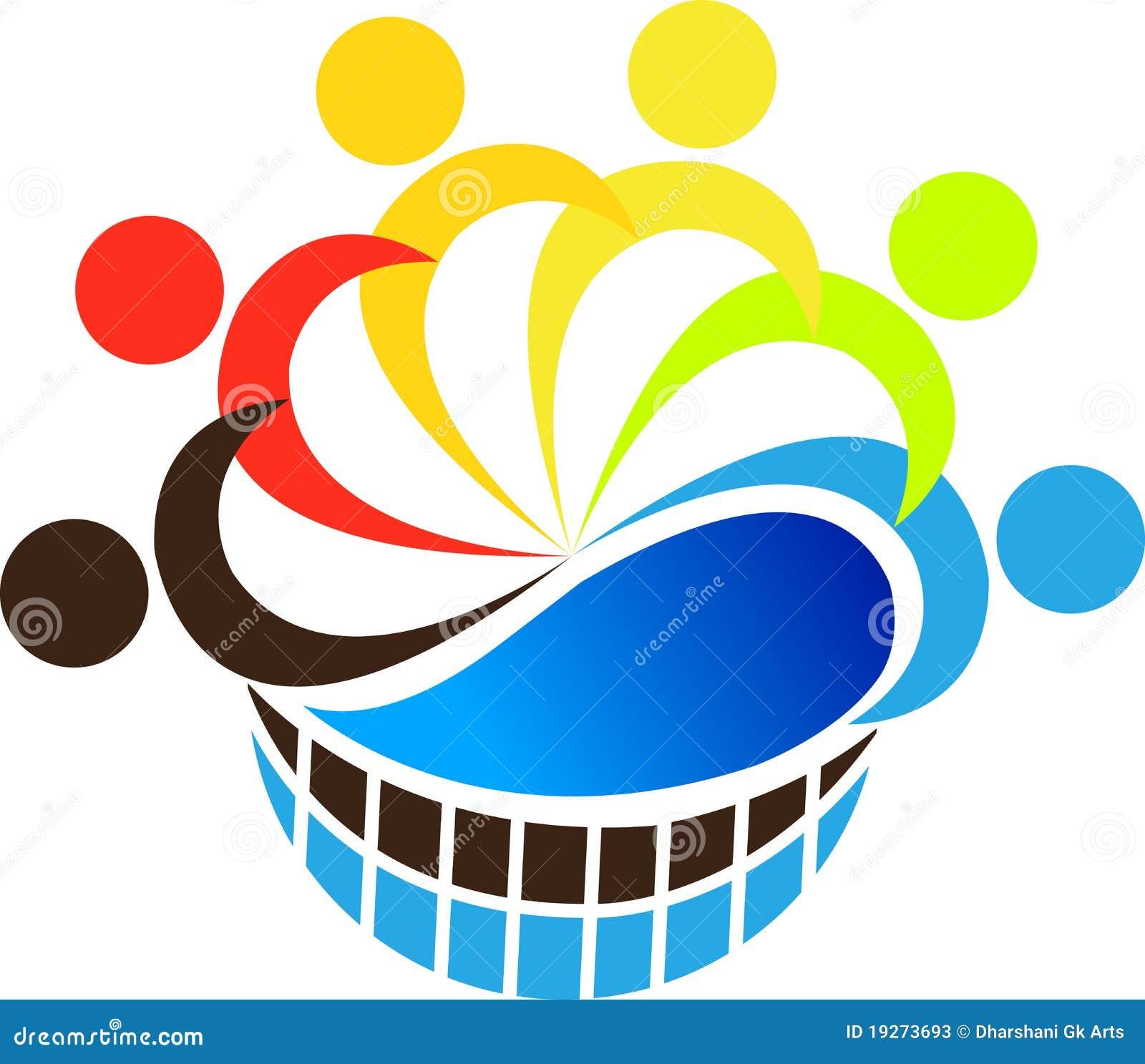 Logo praca zespołowa