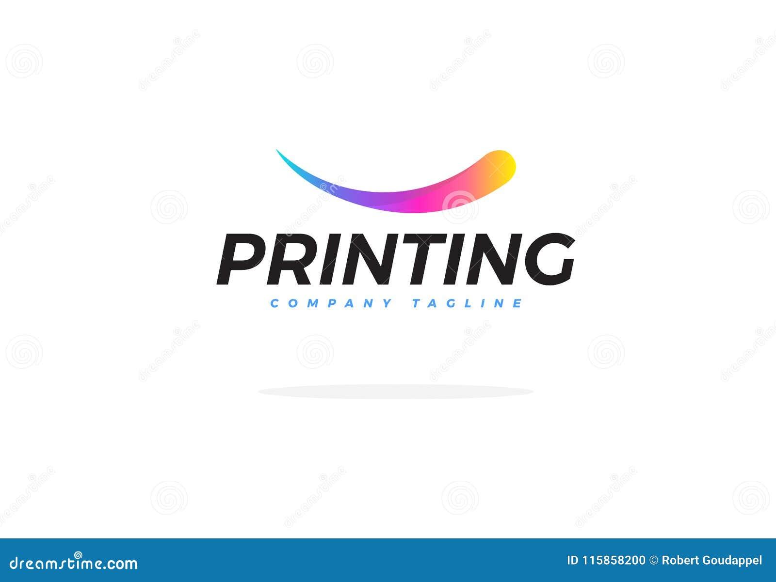 Logo For Printing Company Vetora colorido