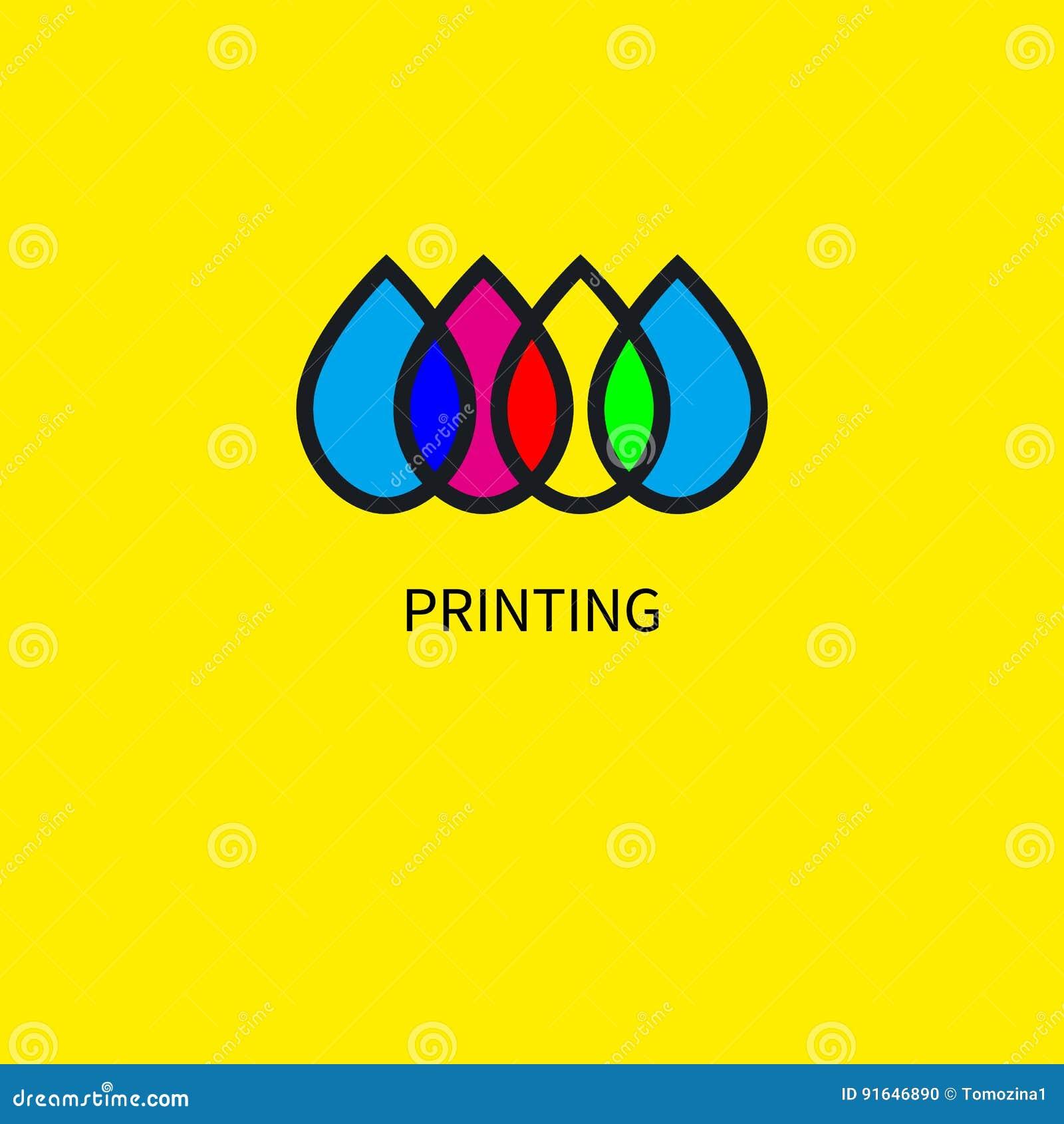 Logo printing house