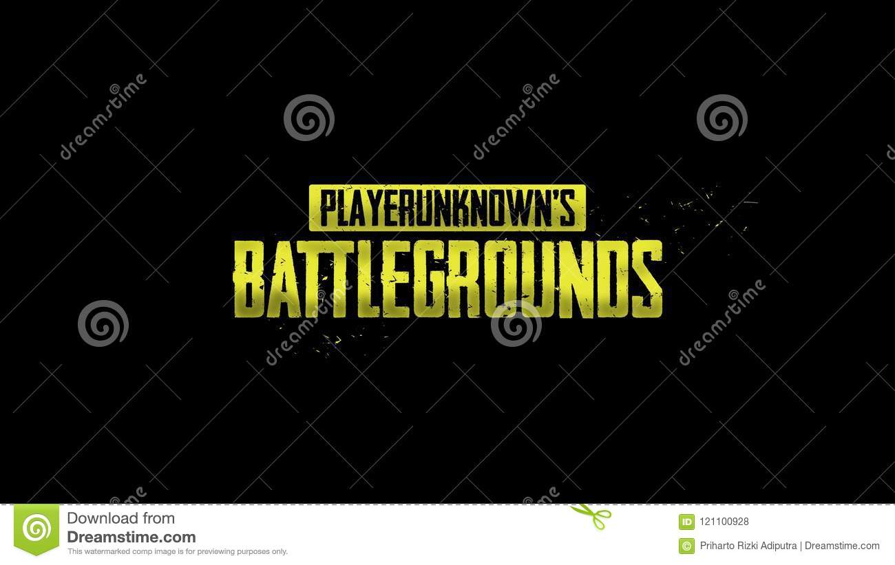 Logo Pubg Stock Vector Illustration Of Most Game Player 121100928
