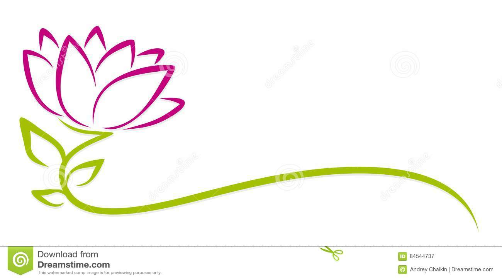 Logo purpur kwiat