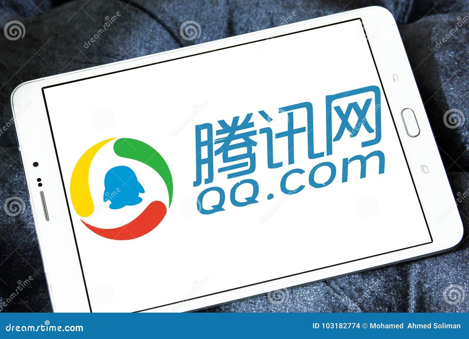 Qq Com Logo Editorial Stock Image Image Of Provide 103182774