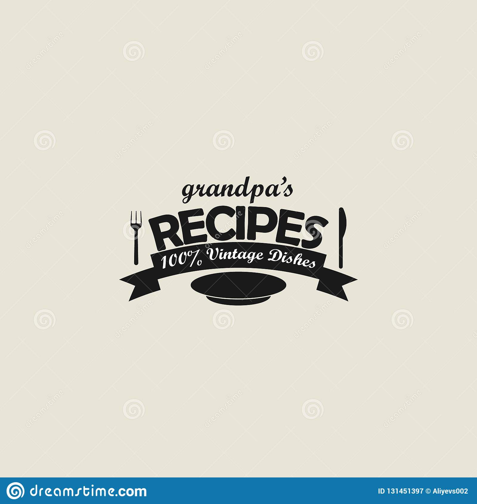 Logo, Recipes, Sticker. Element Of Logo Icon For Mobile