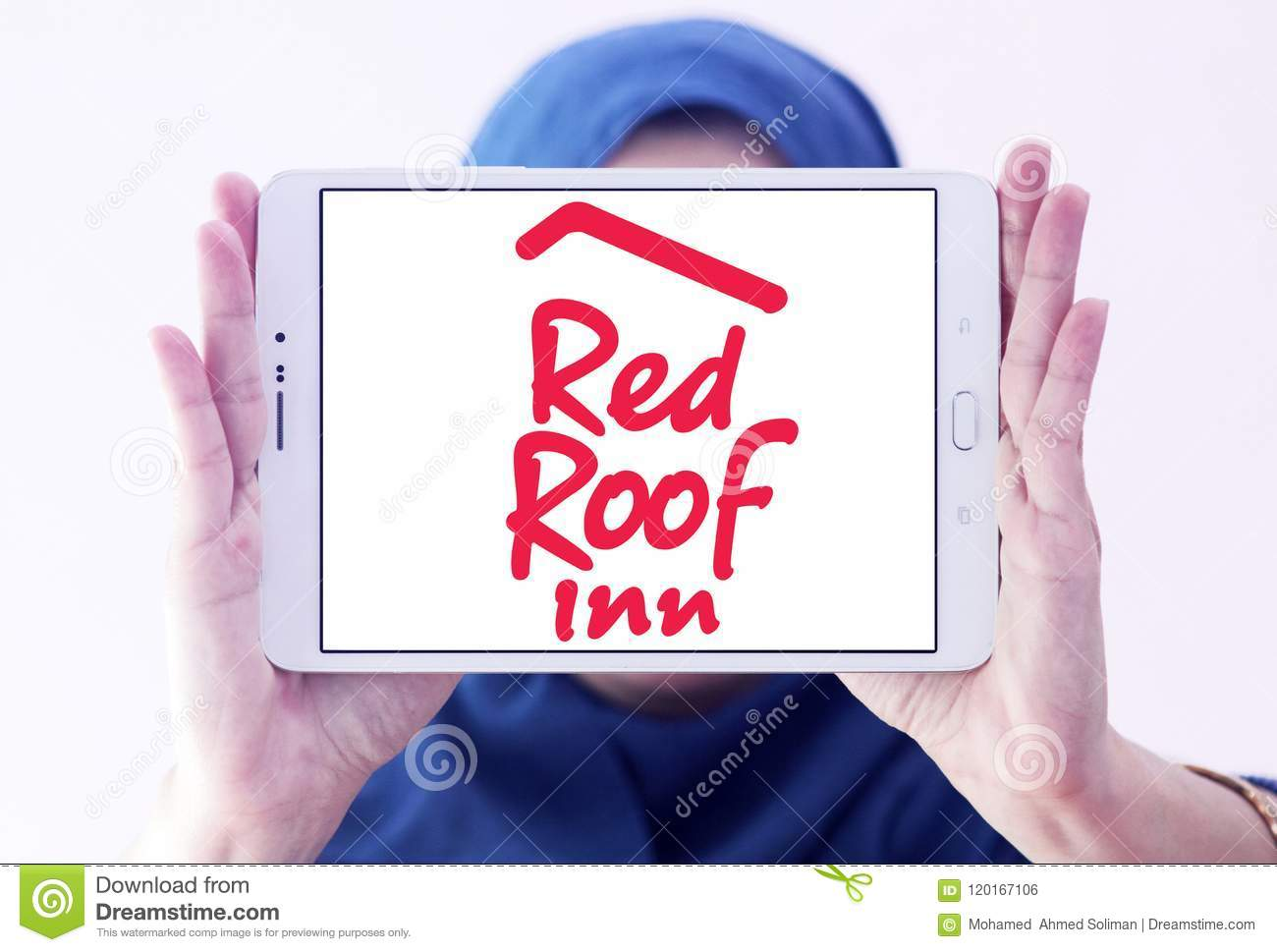 Red Roof Inn logo editorial photo  Image of company - 120167106