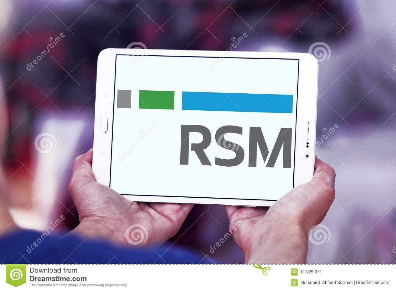 Rsm Us Company Logo Editorial Photo Image Of Brands 117889071