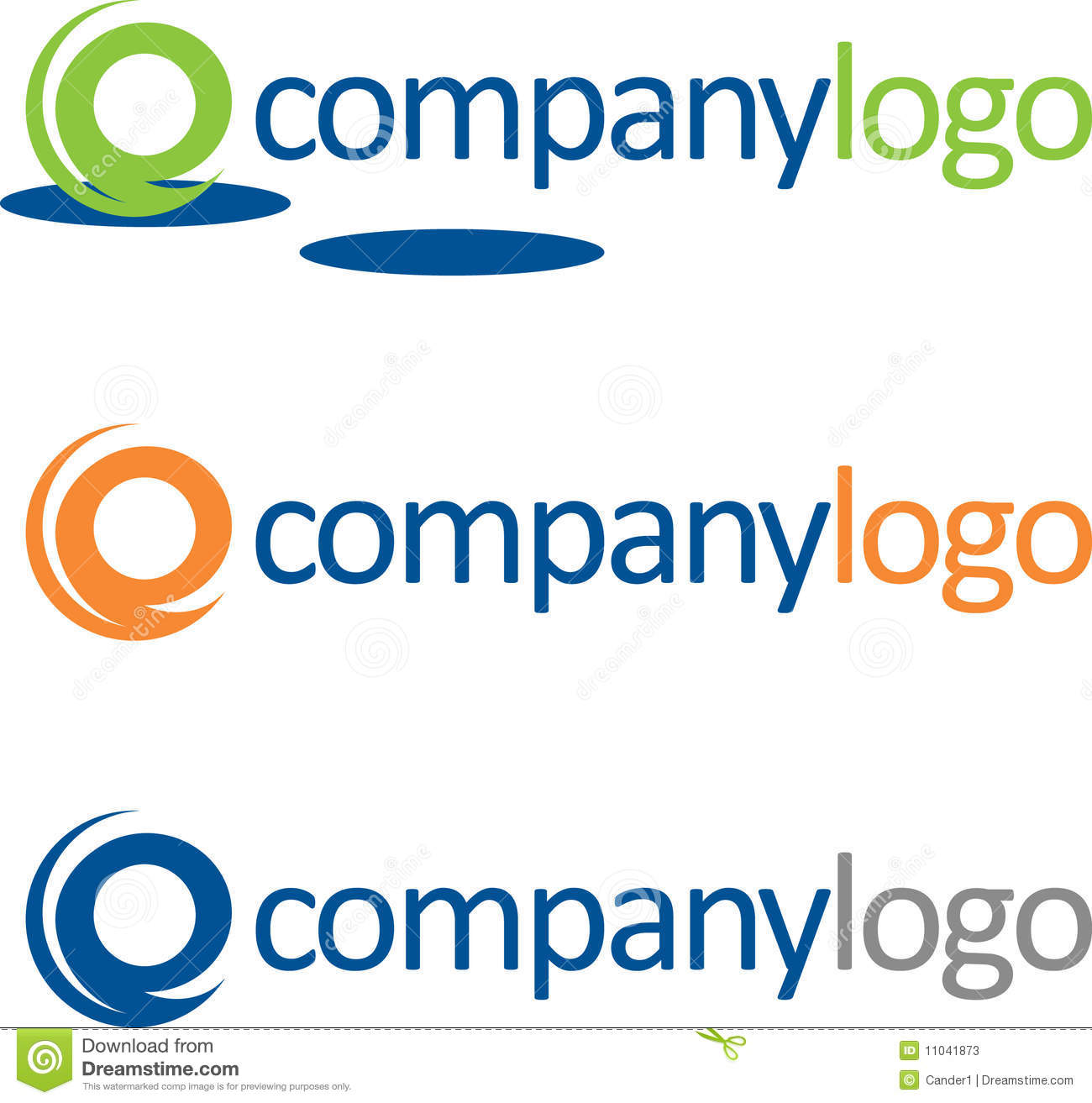 Logo Samples Stock Photos - Image: 11041873