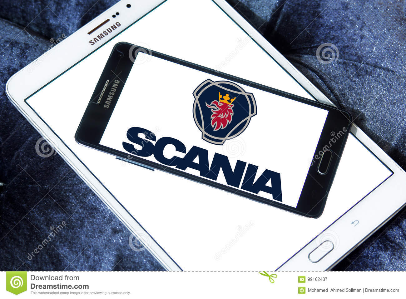 scania company logo editorial photography image of sales