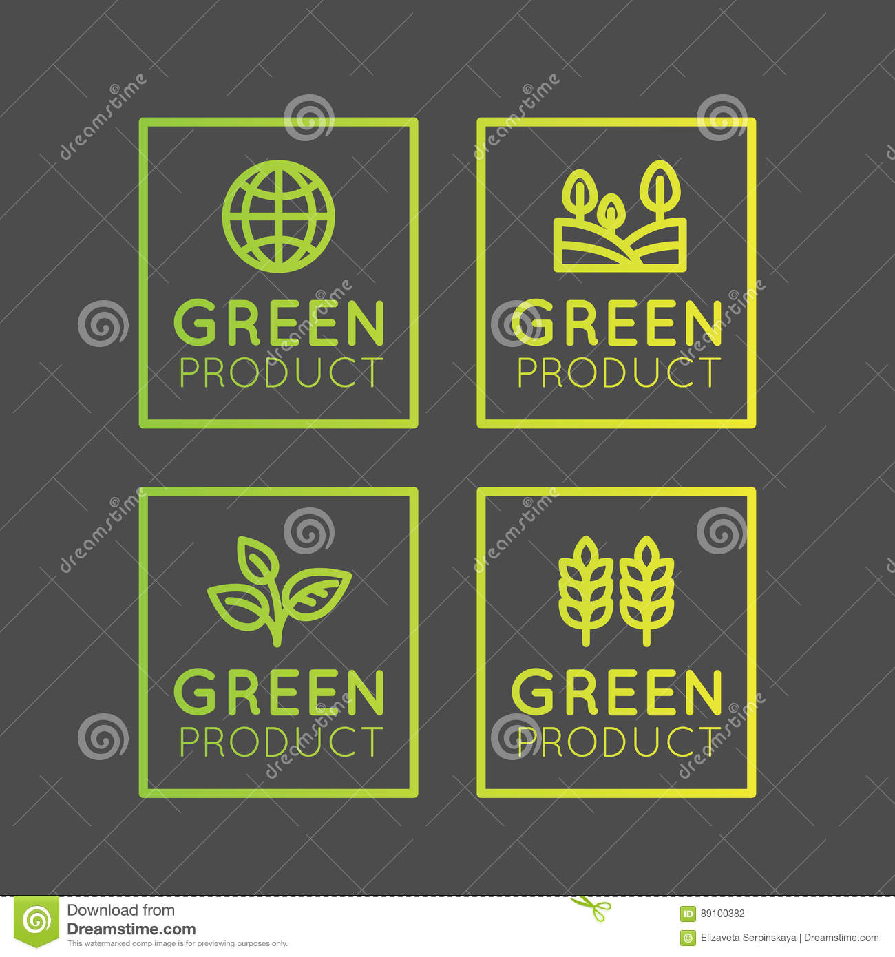 certified organic product or food label vector usda organic seal vector USDA Organic Logo Color