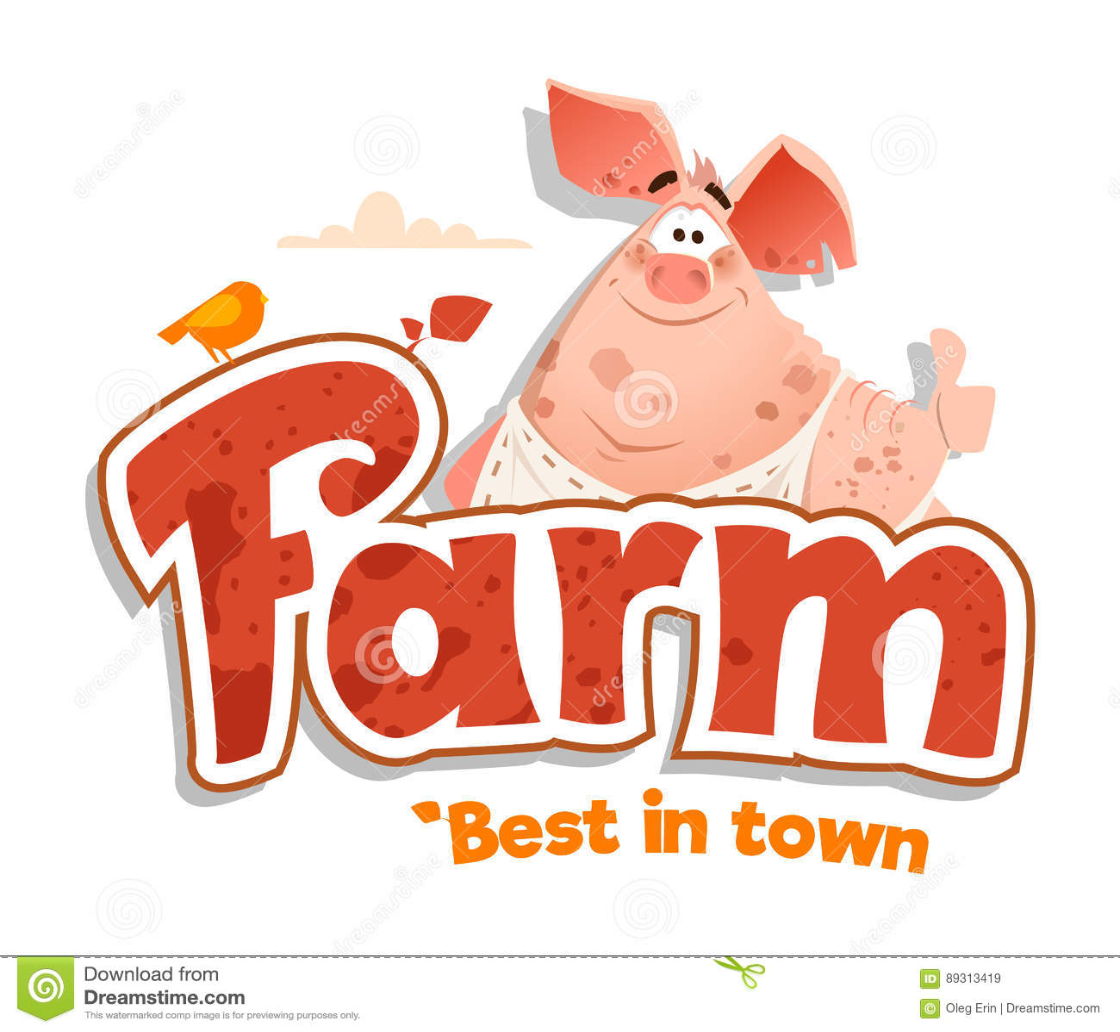 logo sign design template meat shop farm restaurant menu bbq stock