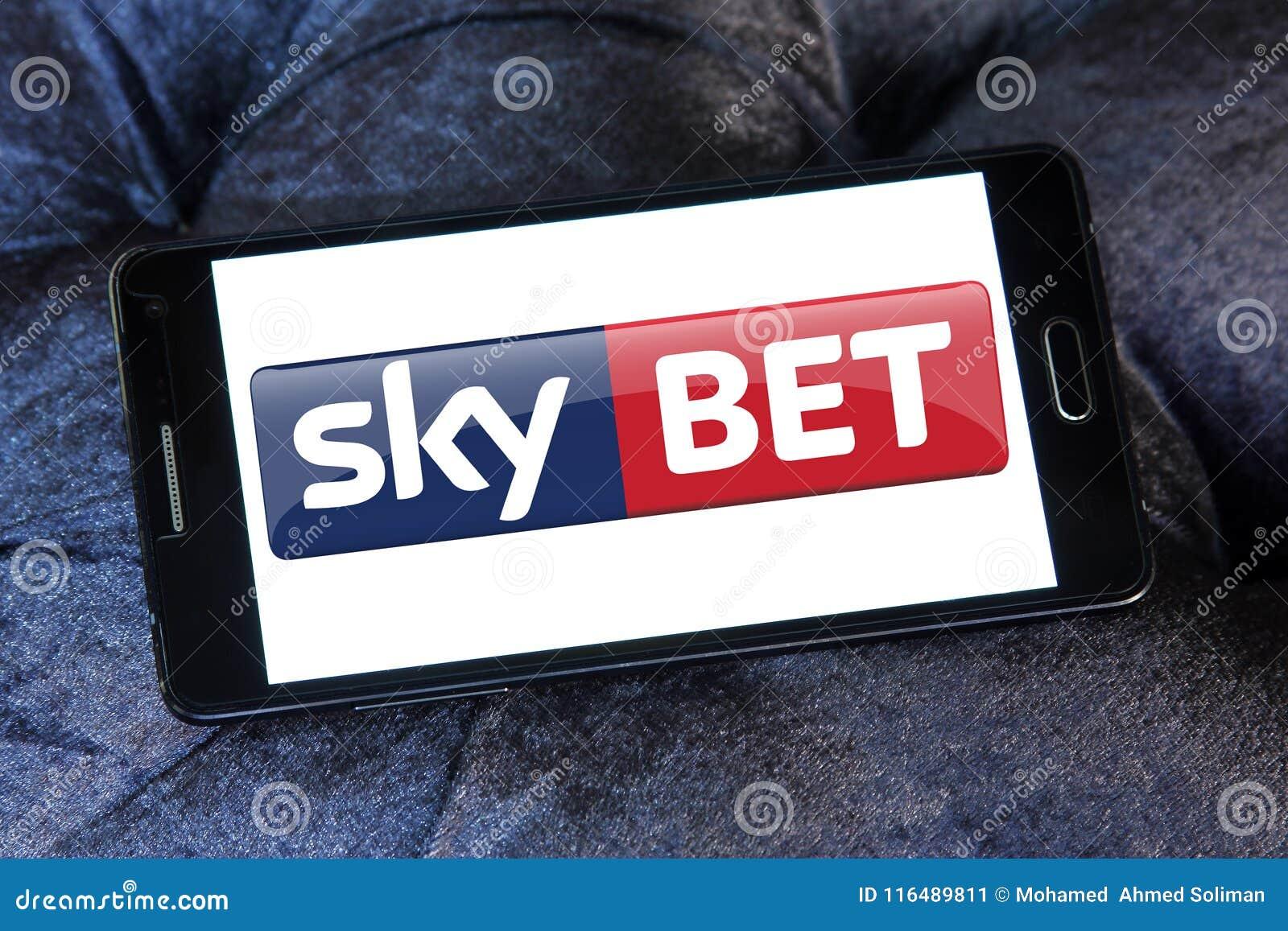 Sky Bet Betting & Gaming Company Logo Editorial Photo