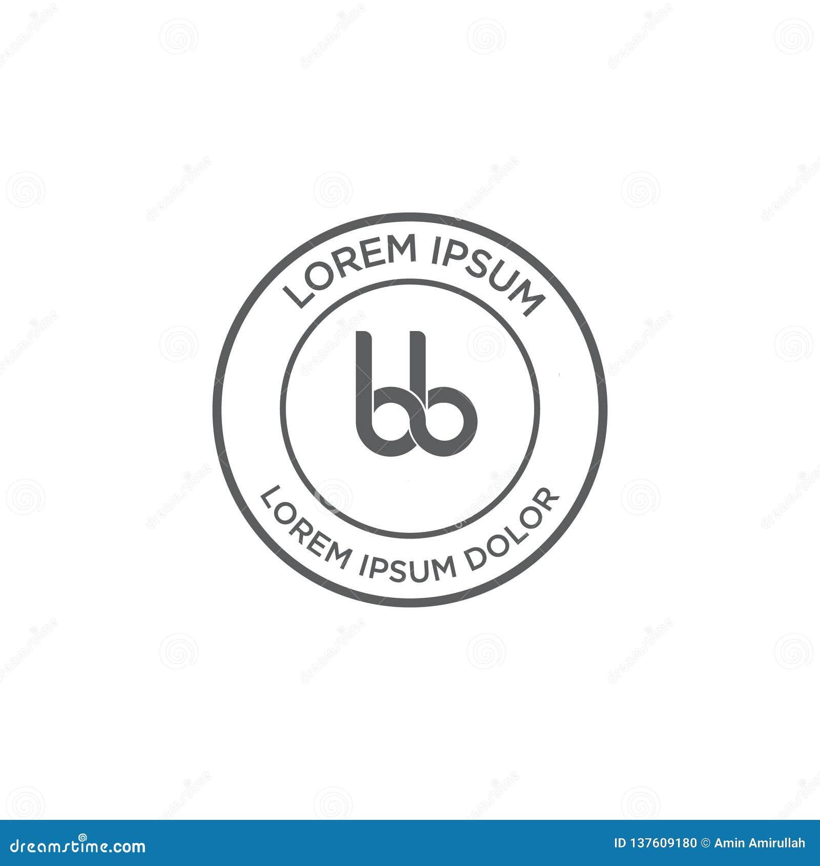 Logo stamp classic design