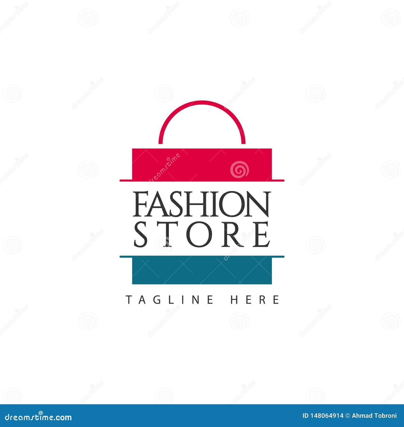 Fashion Store Logo Vector Template Design Illustration Stock Vector Illustration Of Template Fashion 148064914