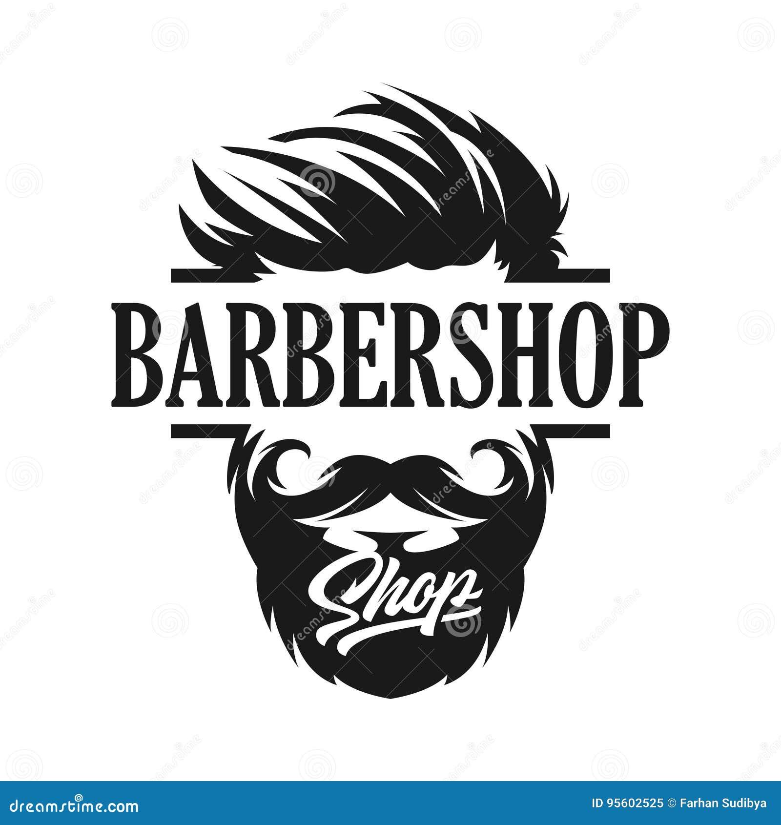 Logo Template Barber-winkel