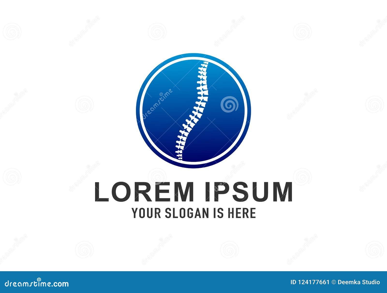 Logo Template Design Vector ortopédico, emblema, concepto de diseño, símbolo creativo, icono