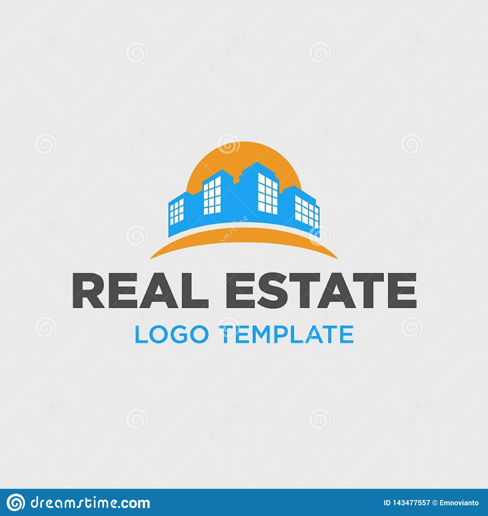 Logo Template for Real Estate Company
