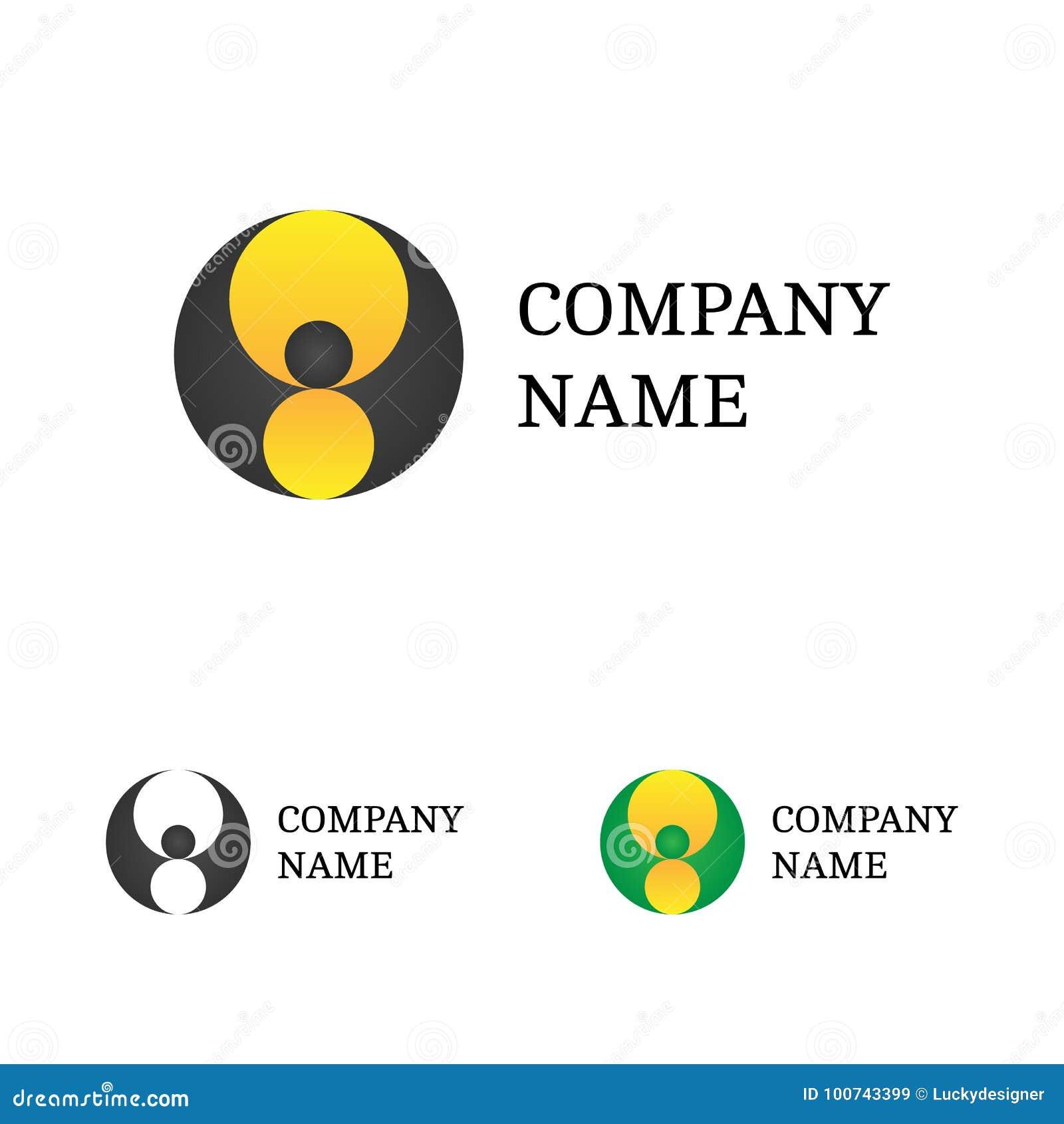 logo template set flying bat logotype vector stock vector