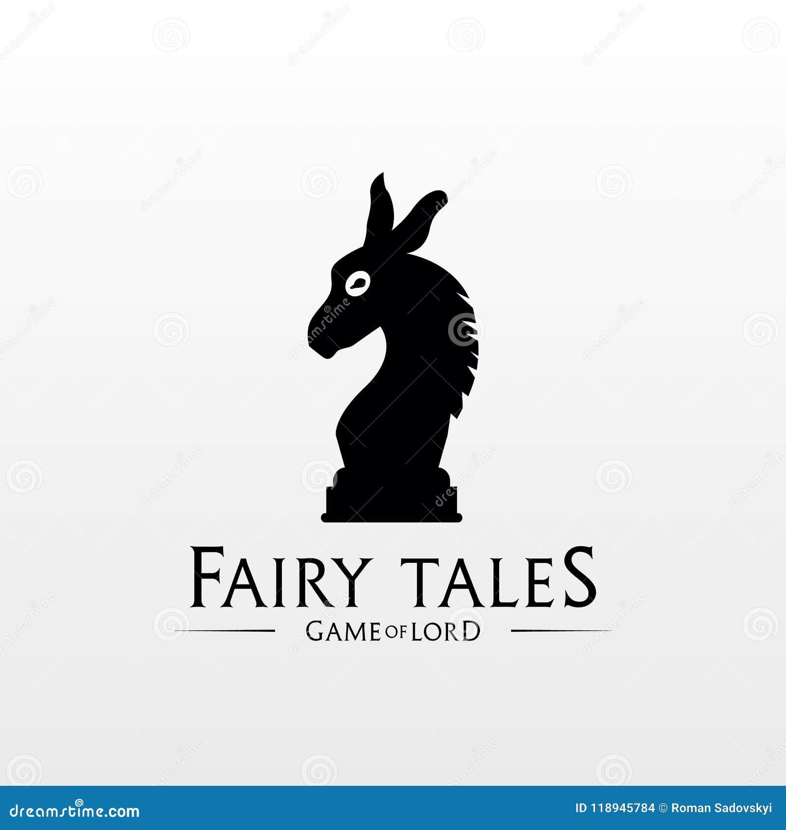 Donkey Logo. Donkey Chess Logo Stock Vector - Illustration of icon ...