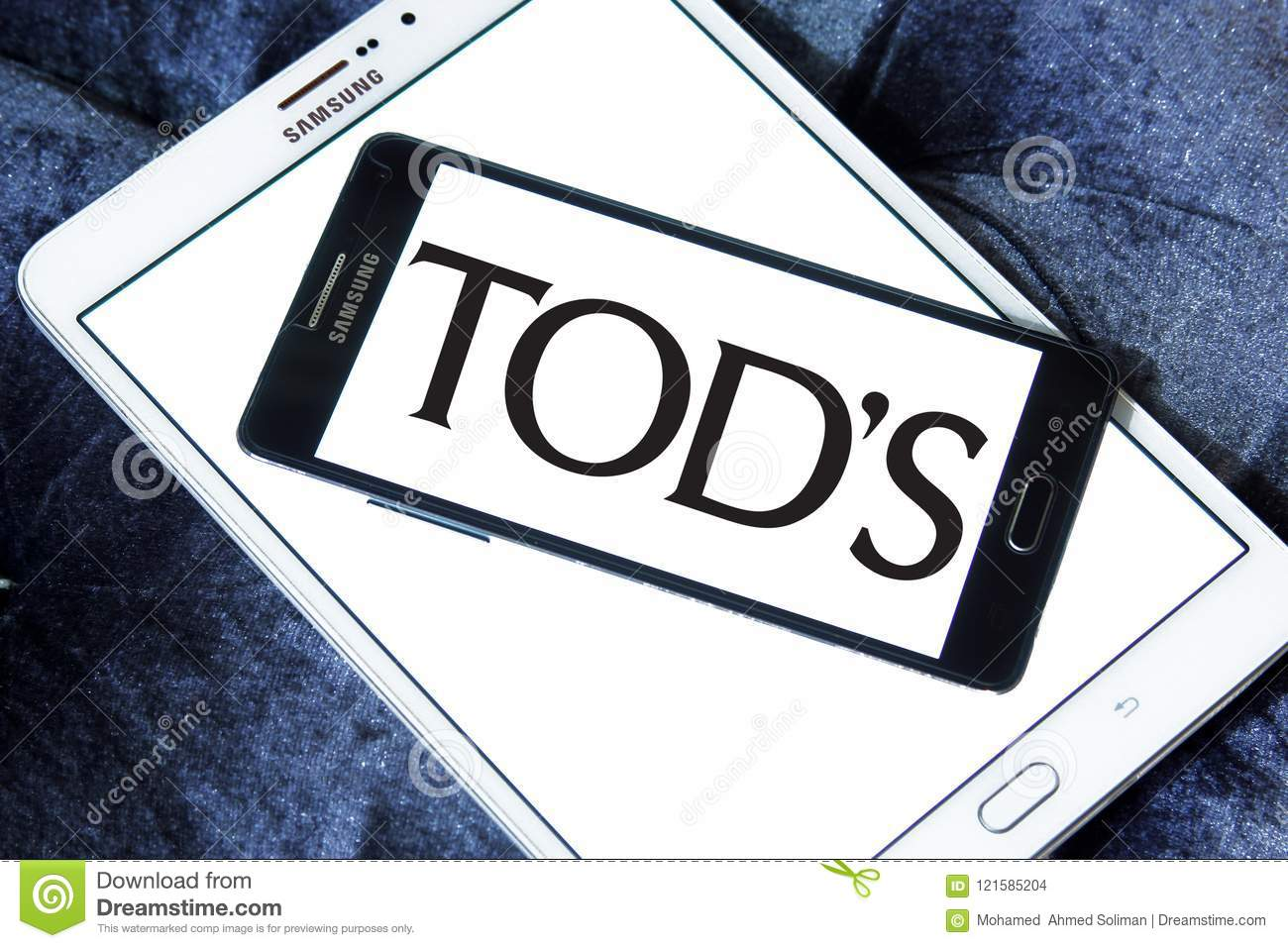 Tod`s fashion brand logo