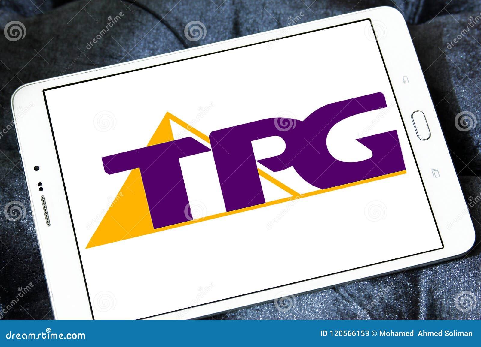 TPG Telecom company logo editorial stock photo  Image of
