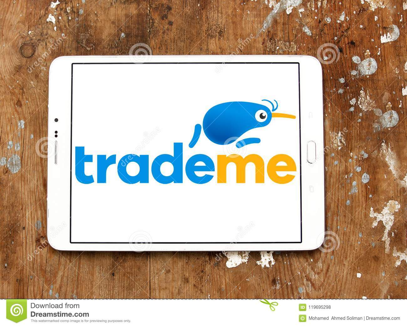 Trade Me Internet Auction Website Logo Editorial Stock Photo Image Of Brand Brands 119695298