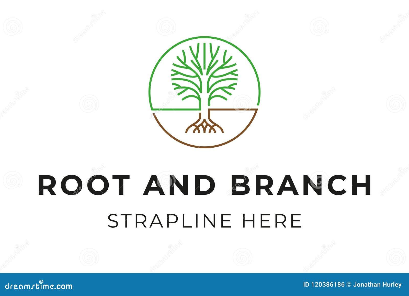 Tree Logo Stock Vector Illustration Of Trademark Logo 120386186