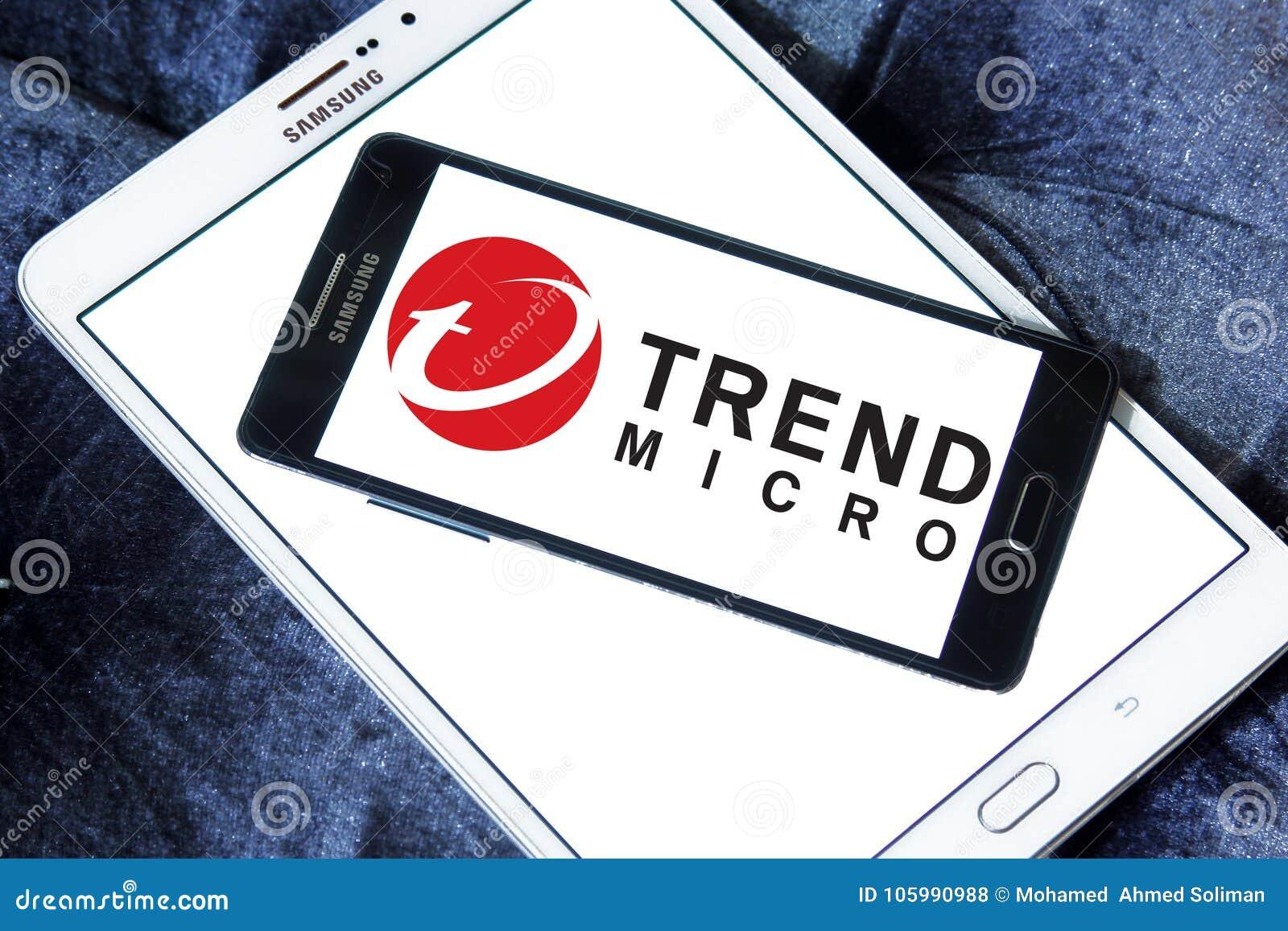 Trend Micro company logo editorial stock photo  Image of avast