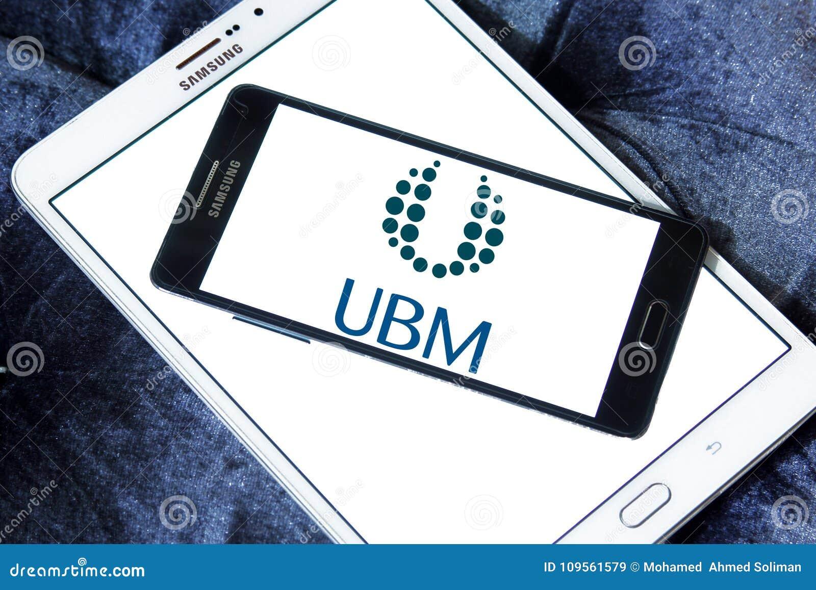 Ubm Media Company Logo Editorial Stock Image Image Of Company 109561579