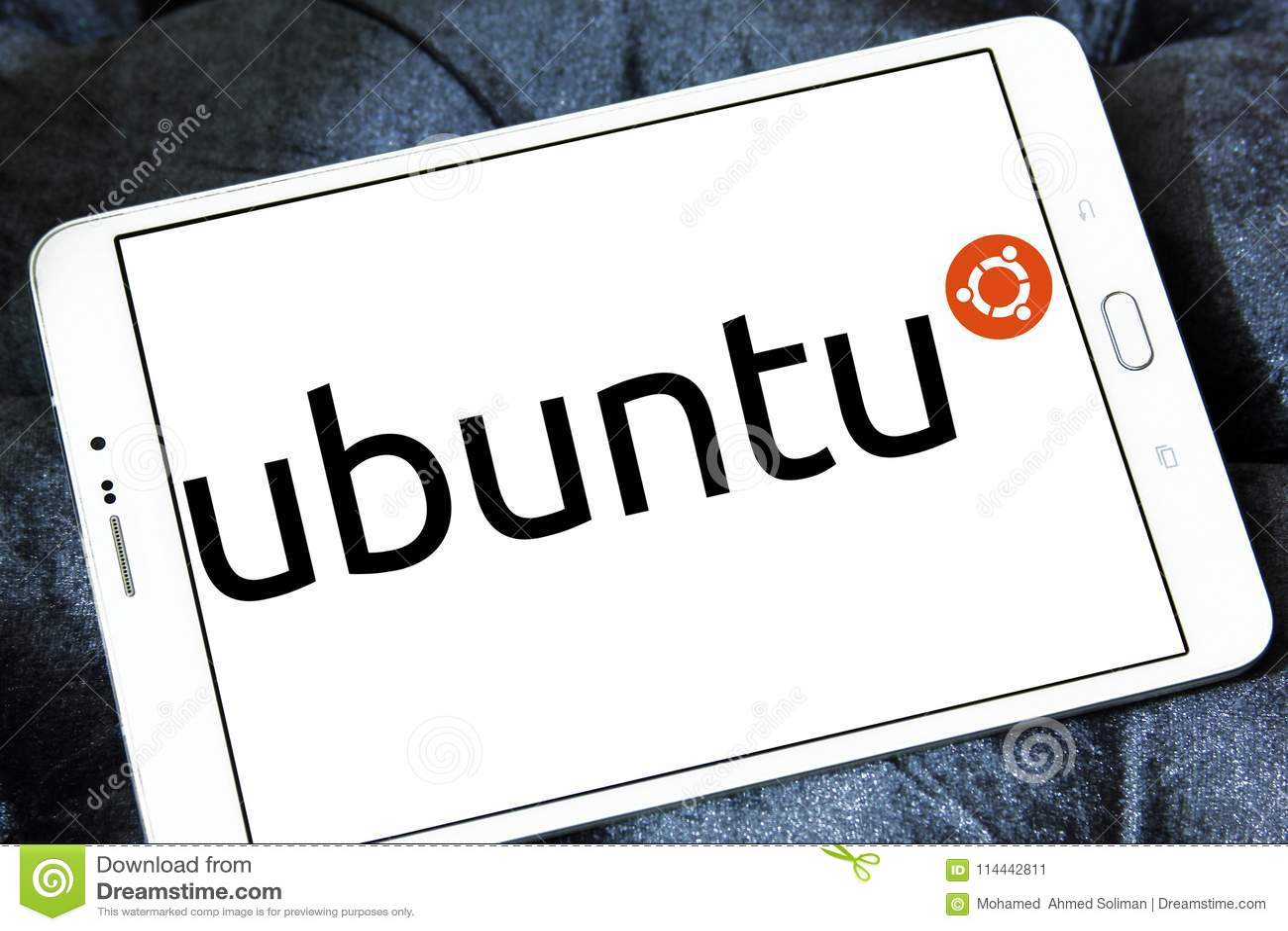 Ubuntu Operating System Logo Editorial Photo - Image of commercial