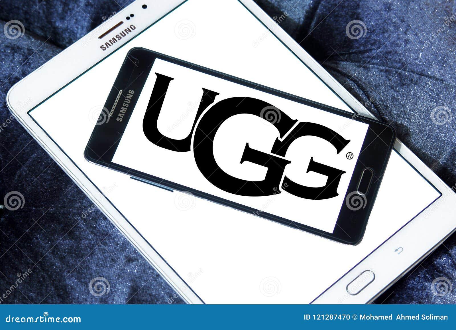 UGG footwear brand logo editorial image  Image of icon