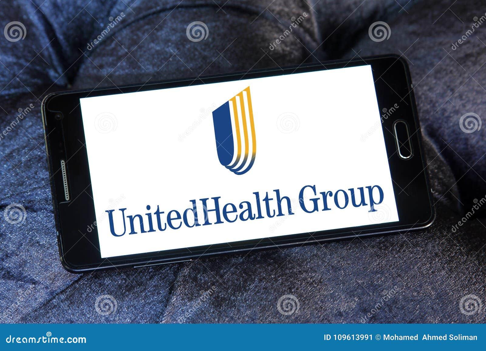 UnitedHealth Group logo editorial photo. Image of health ...