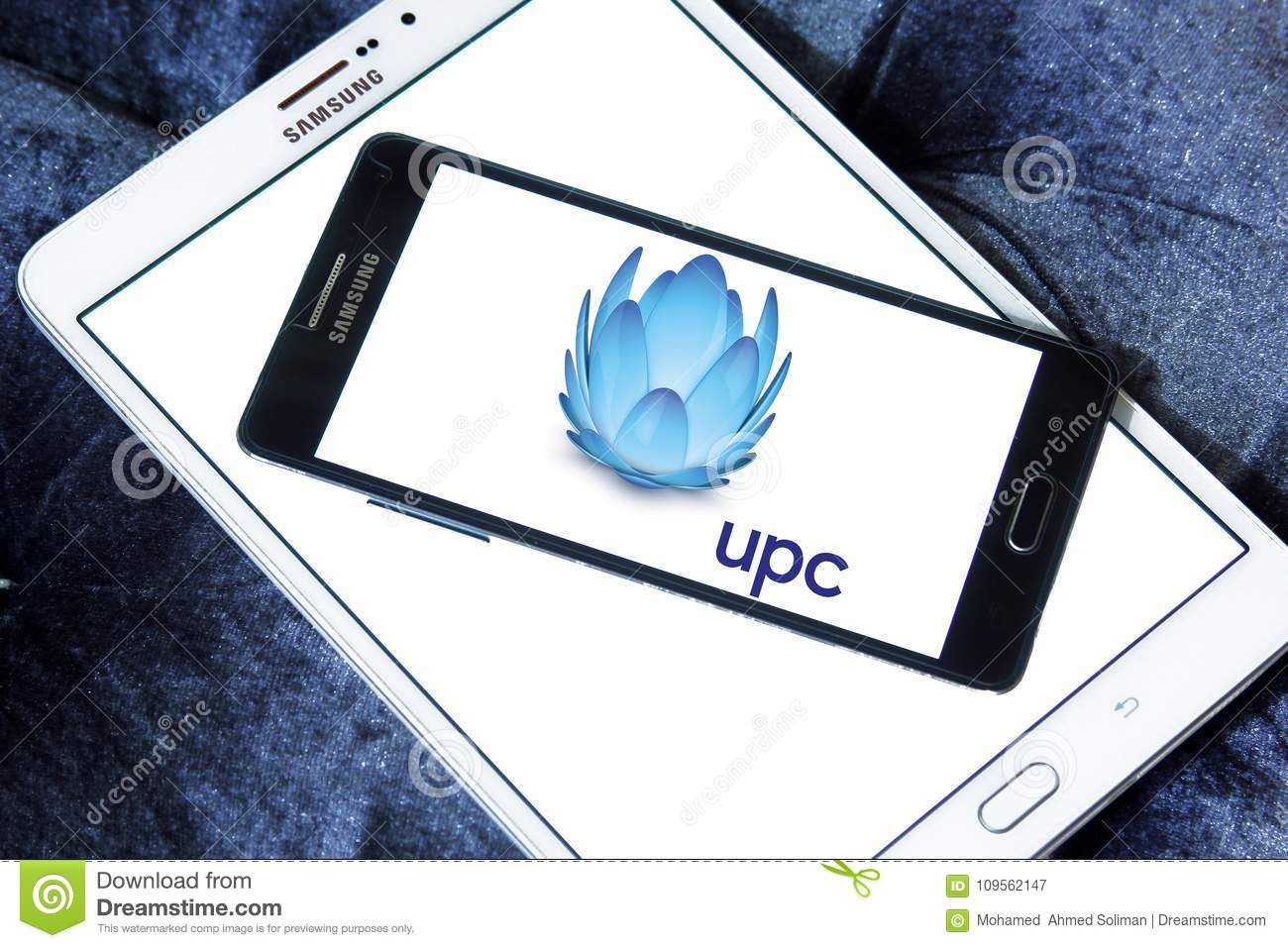 UPC Broadband logo editorial photography  Image of broadband