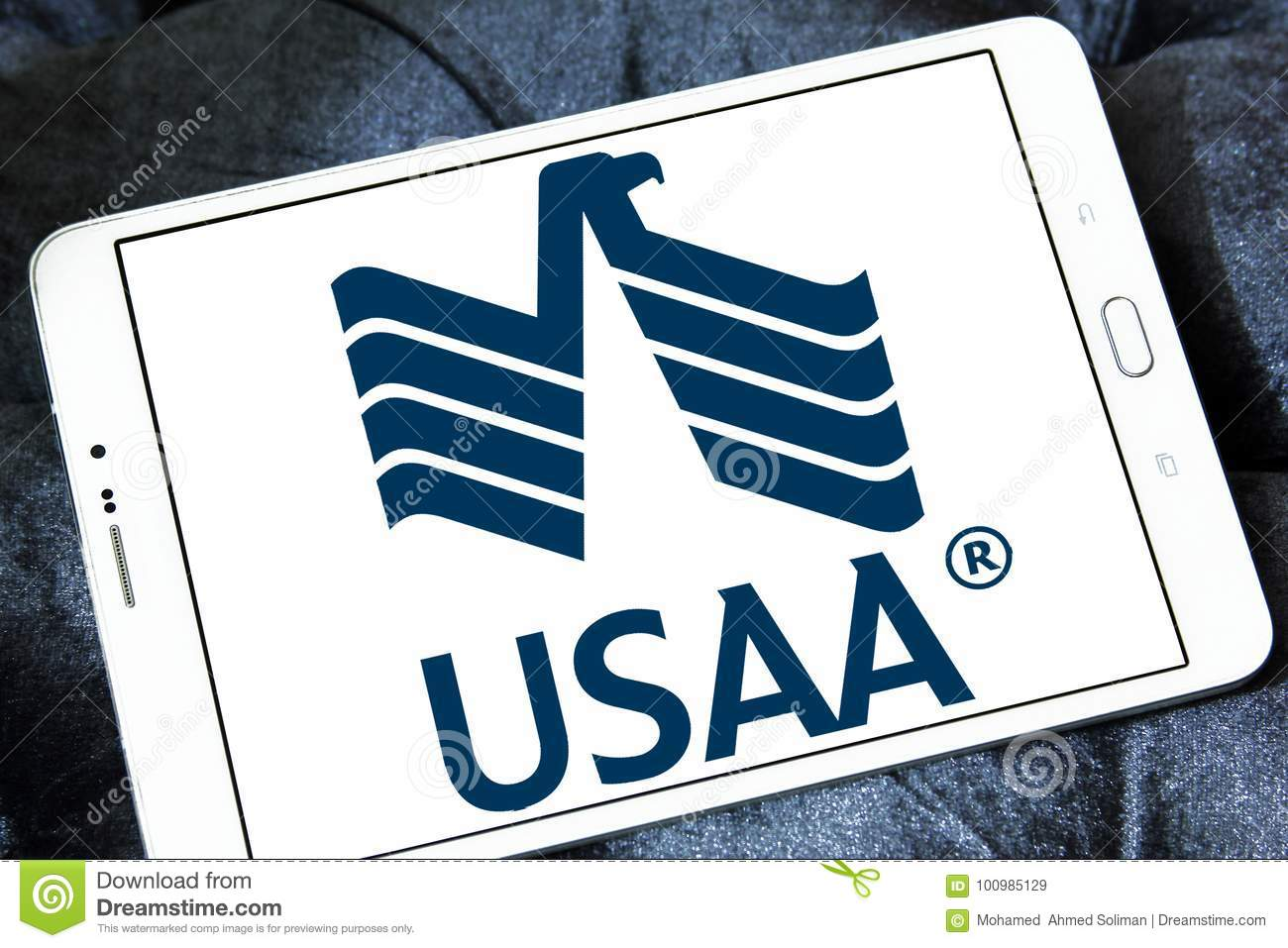 Usaa Company Logo Editorial Stock Image Image Of Insurance 100985129