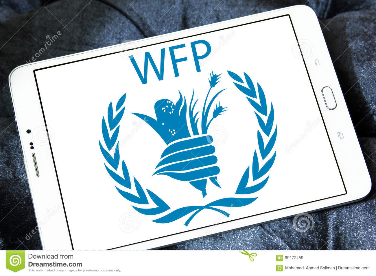 Wfp World Food Programme Logo Editorial Stock Image Image Of Signs Humanitarian 99172459