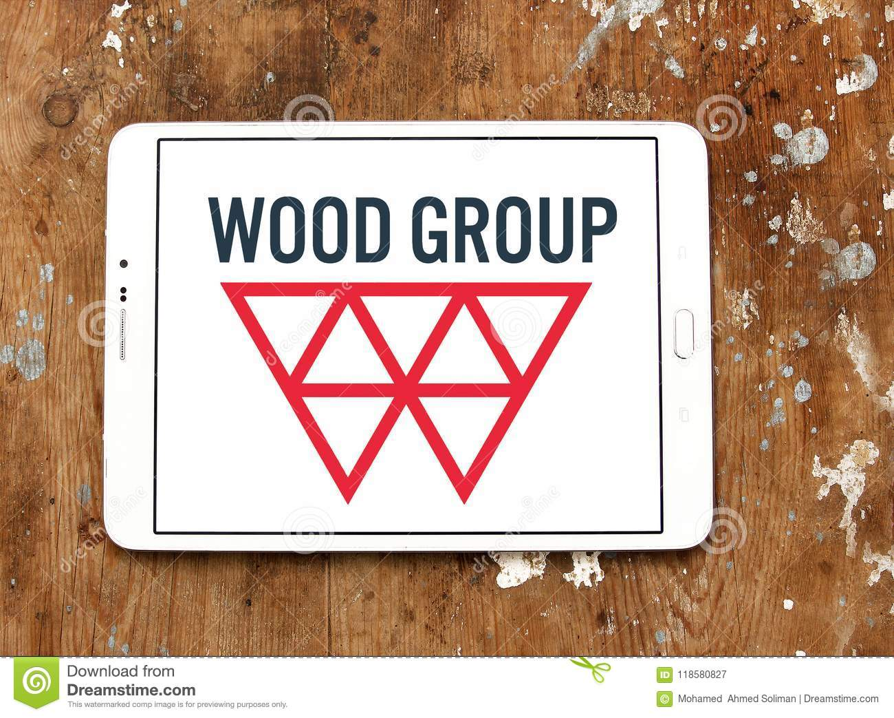 Wood Group logo editorial photography  Image of symbol - 118580827