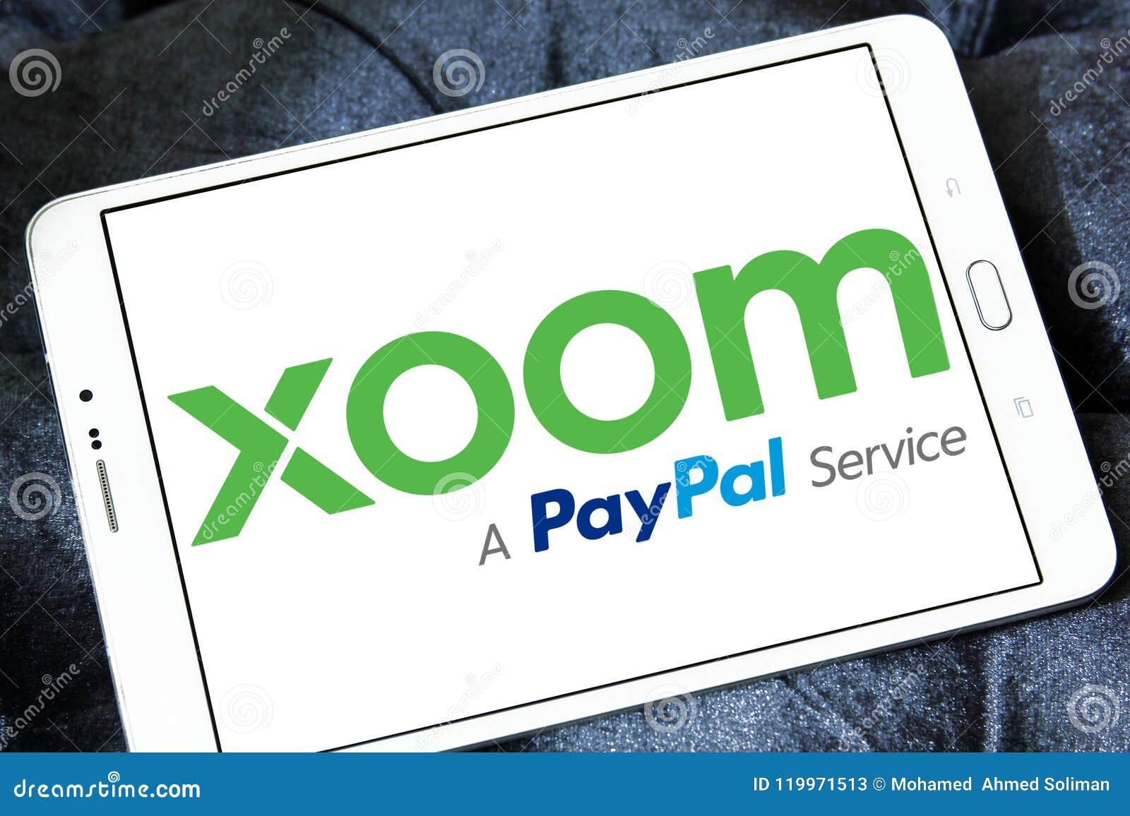 Xoom Corporation logo editorial stock photo  Image of company