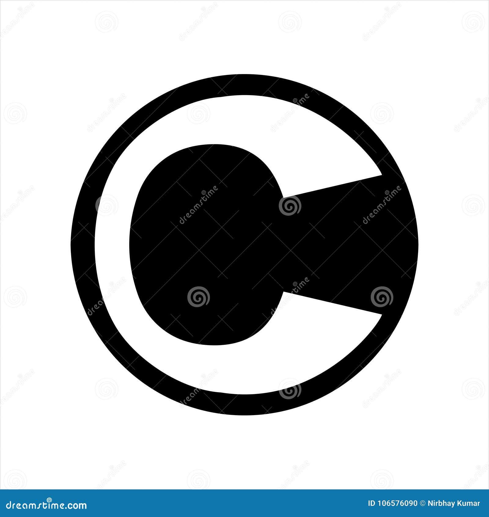 Logodesign för bokstav C