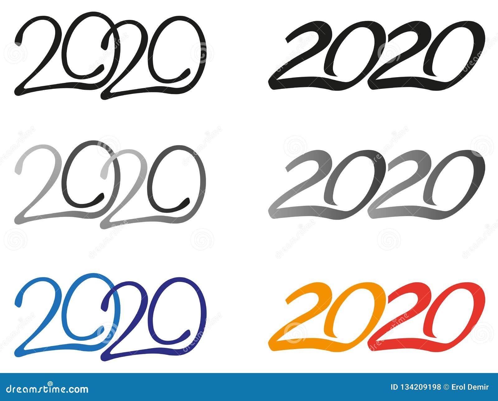 Logoer för år 2020