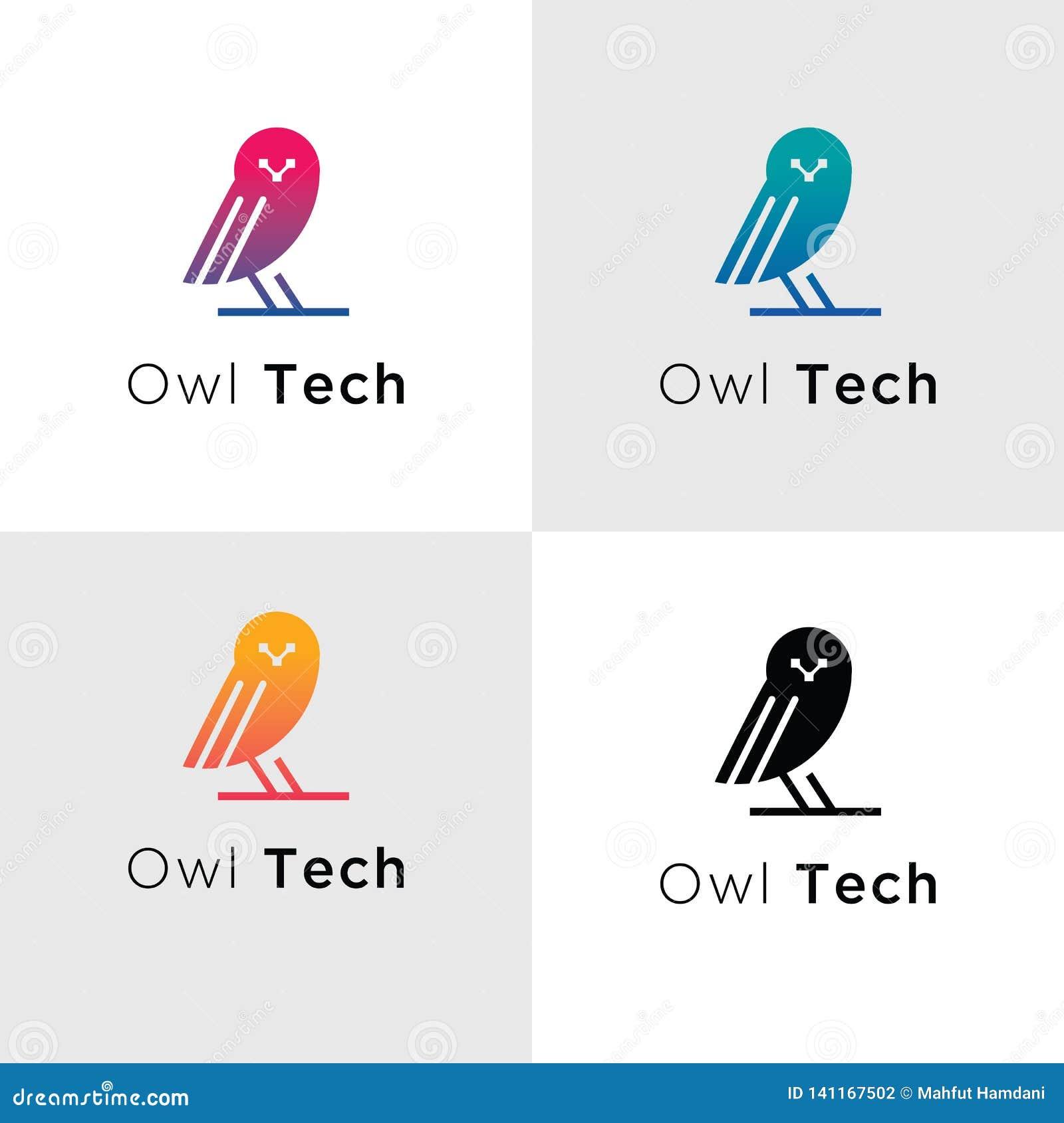 Logoer för mallfågelTech