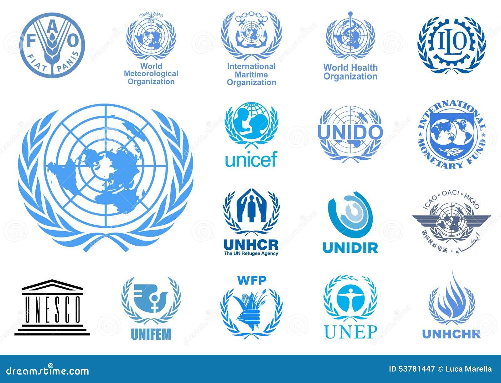 Logos d agences de Nations Unies