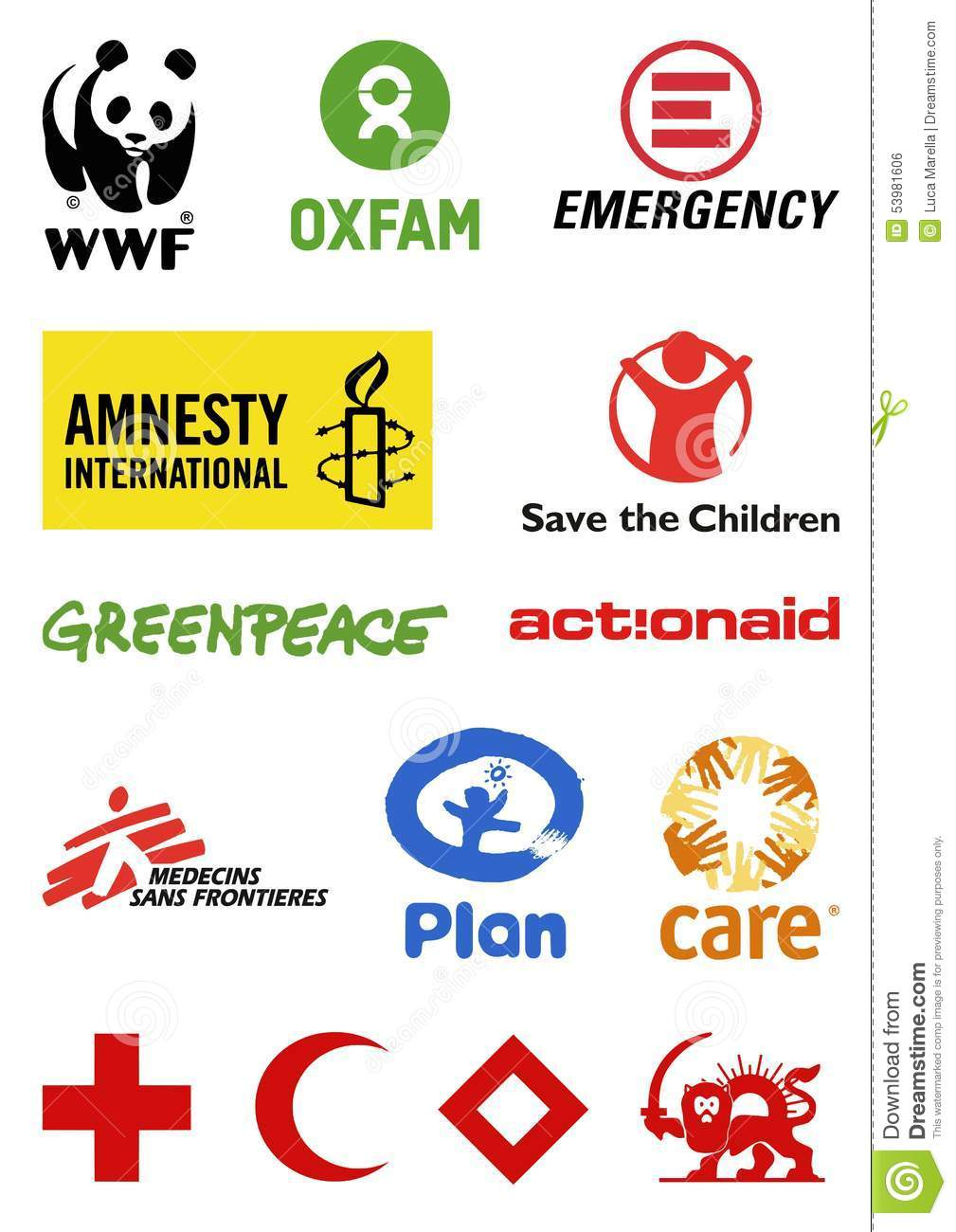 Logos d organisations non gouvernementales