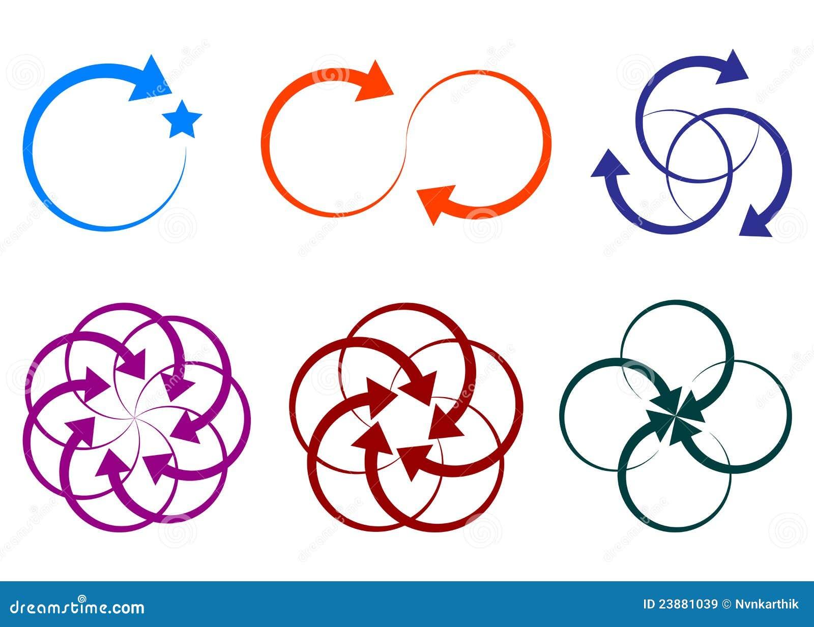 Logos de forme de flèche