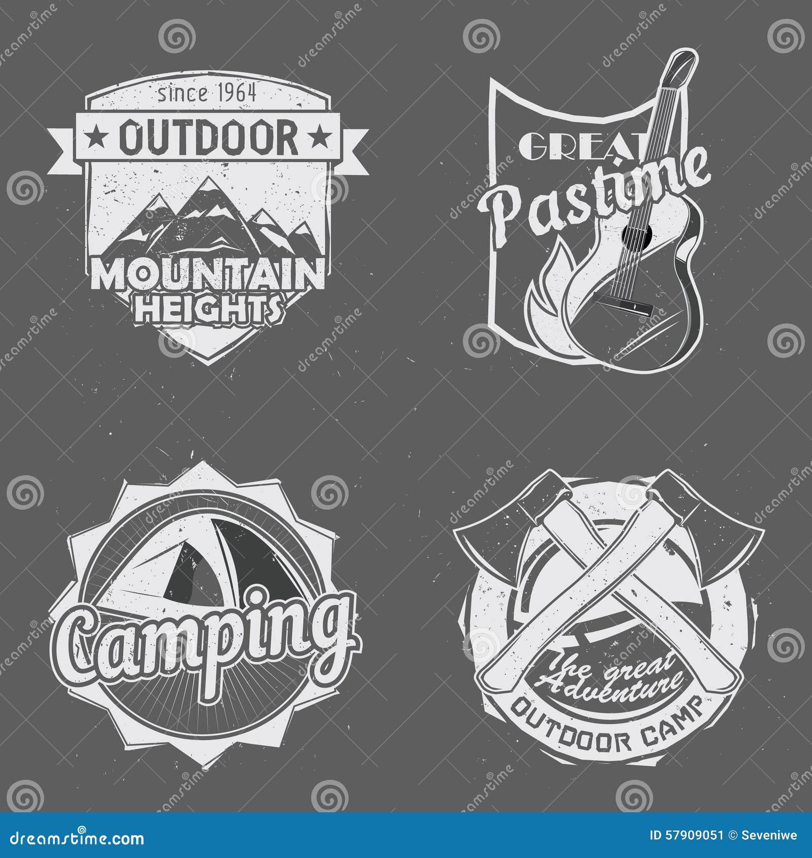Logos extérieurs de voyage