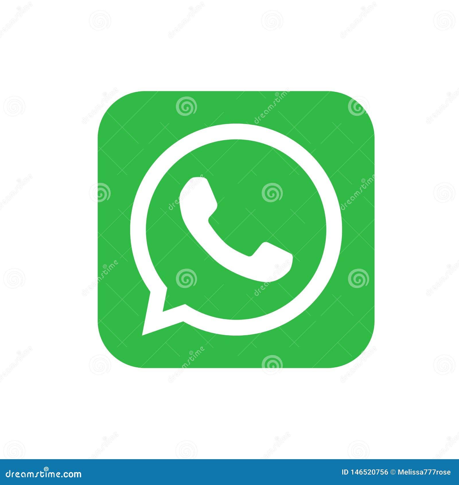 Logos sociaux populaires de m?dias, whatsapp de youtube de gazouillement d instagram de facebook d ic?nes