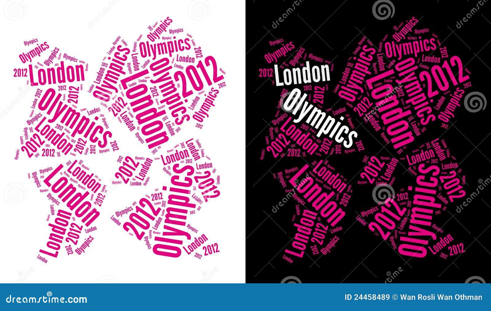 Logotipo 2012 dos Olympics de Londres