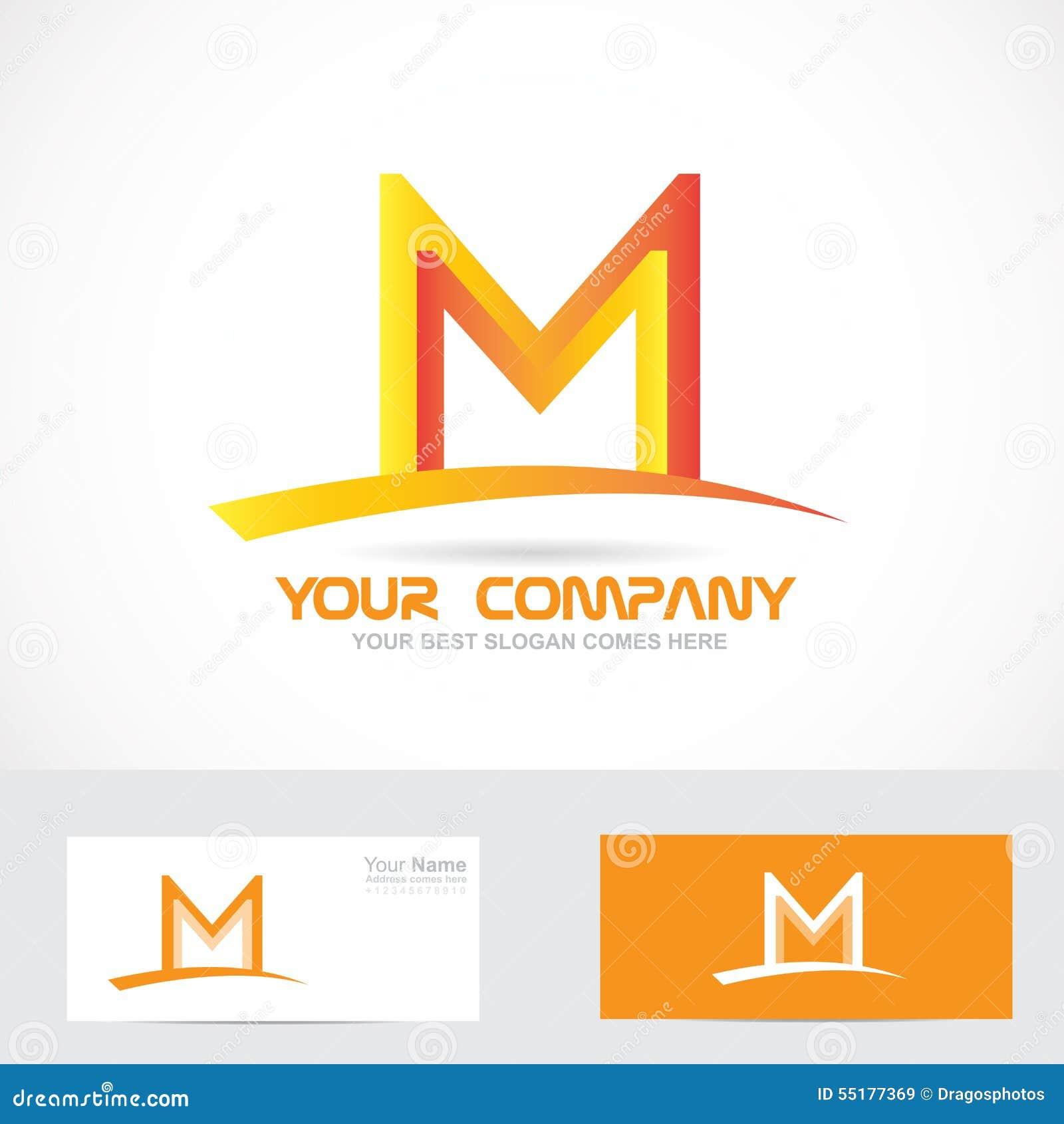M Logo 3d Logotipo Anaran...