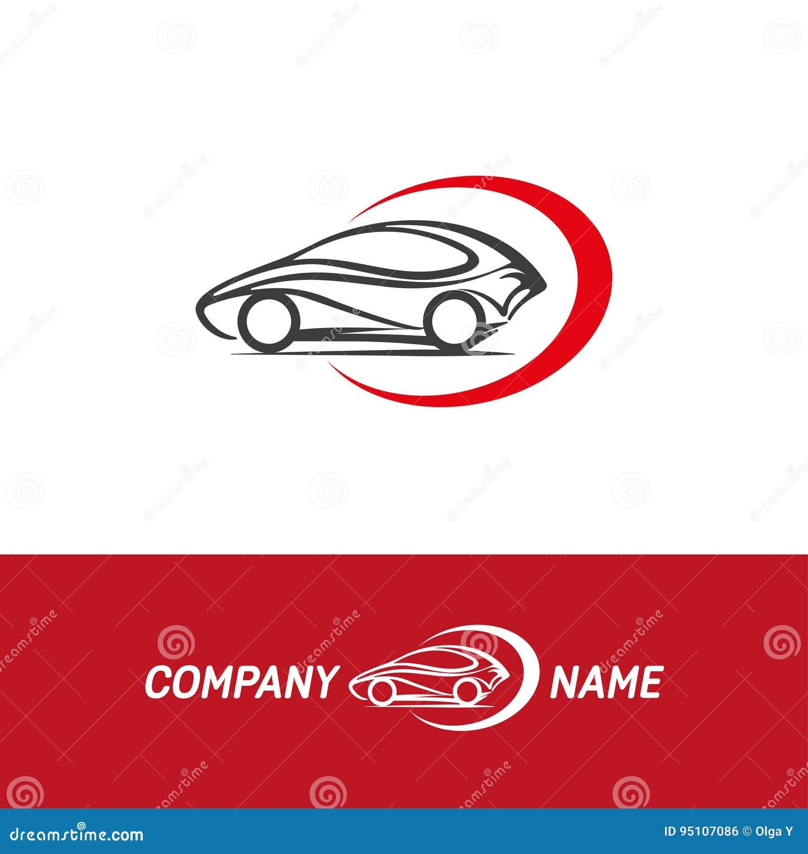 Logotipo auto del extracto del coche