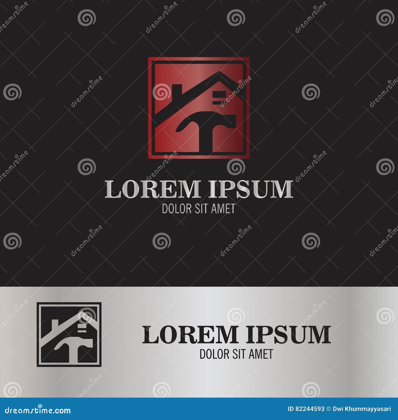 Logotipo casero de la reparación