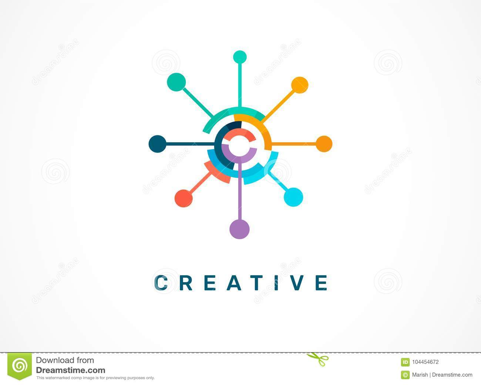 Logotipo - creativo, tecnología, icono de la tecnología y símbolo