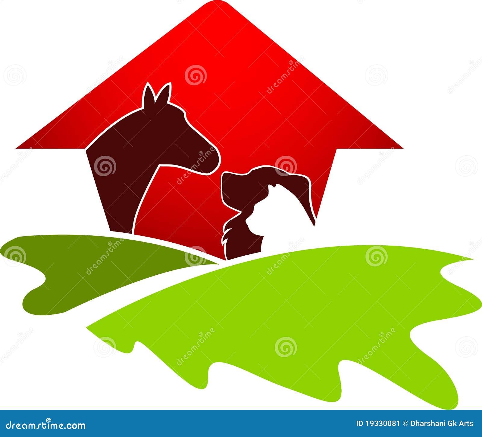 Logotipo da casa do animal de estimação