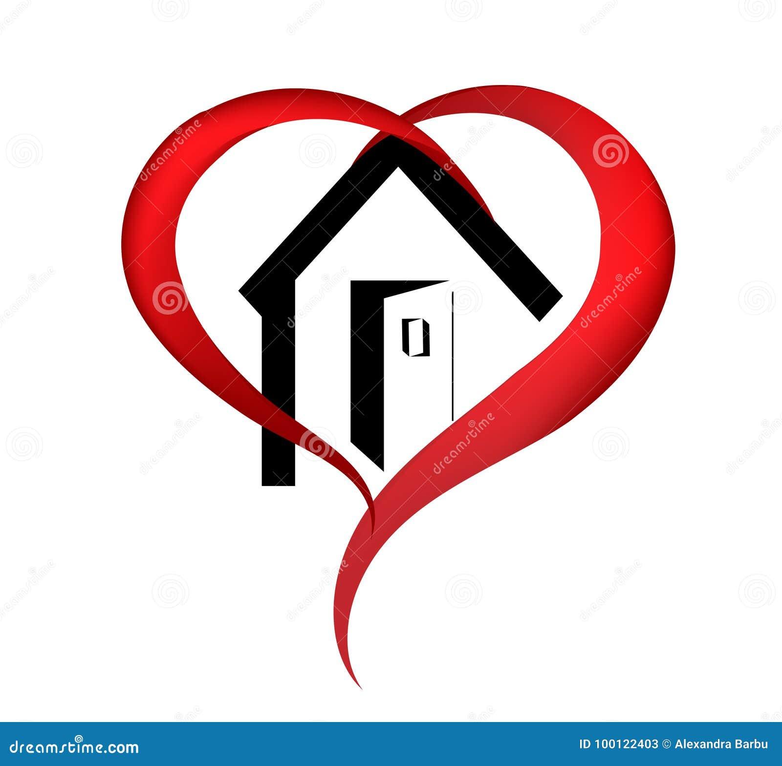 Logotipo da casa do coração